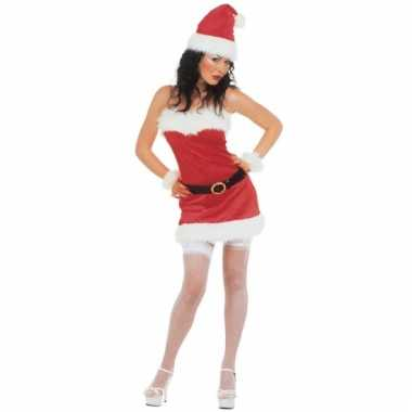 Flanellen kerstjurk voor dames