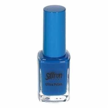 Fluor blauw nagellak