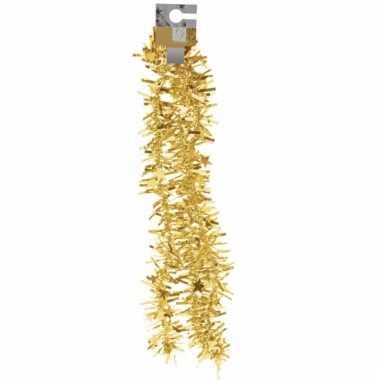 Folie slinger goud met sterretjes 180 cm