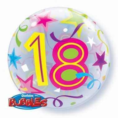 Folieballon helium 18 jaar