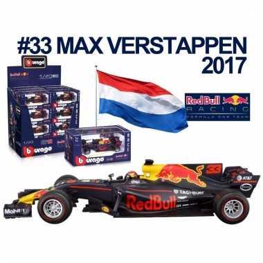 Formule 1 schaalmodel auto max verstappen 1:43