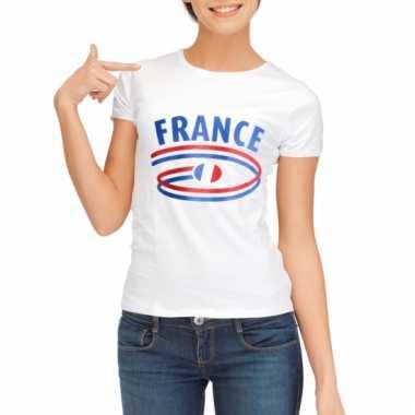 Franse vlaggen t-shirts voor dames