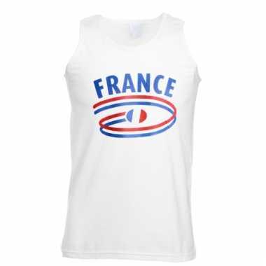 Franse vlaggen tanktop voor heren