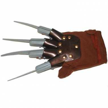 Freddy krueger handschoen volwassen