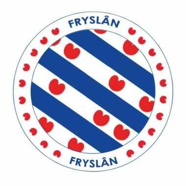 Friesland vlag print bierviltjes