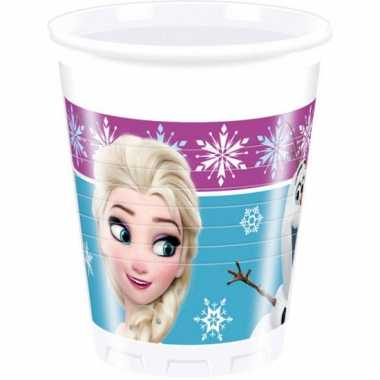 Frozen bekers 8 stuks