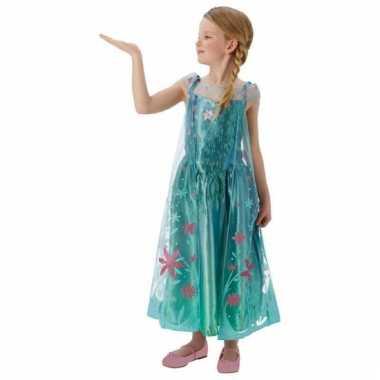 Frozen fever verkleed jurkje voor meiden