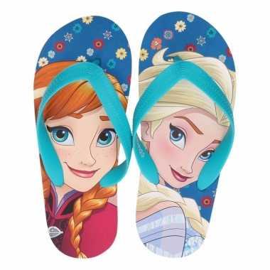 Frozen kinder slippers anna en elsa voor meisjes