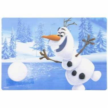 Frozen olaf 3d placemat type 1