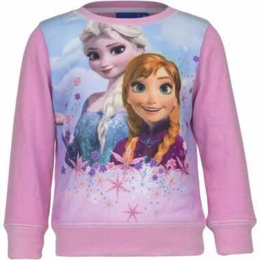 Frozen sweater roze voor meisjes