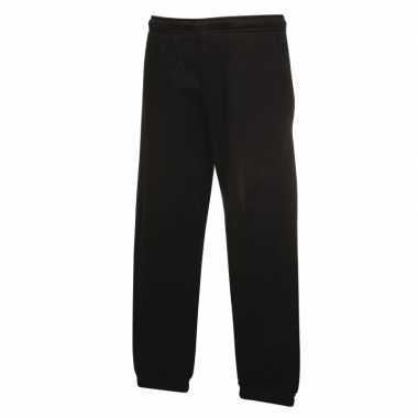 Fruit of the loom joggingbroek zwart voor kinderen