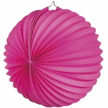 Fuchsia roze party lampionnen