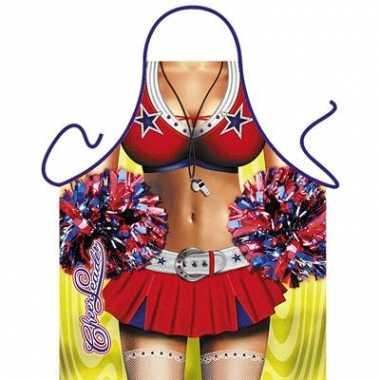 Funartikel schort cheerleader