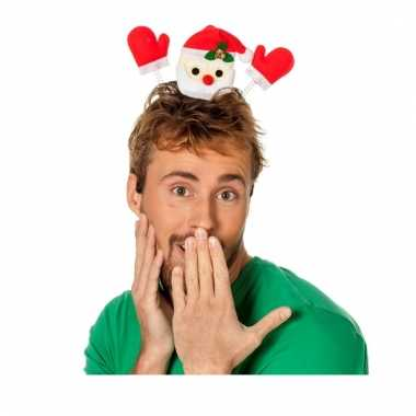 Funny kerstman op diadeem