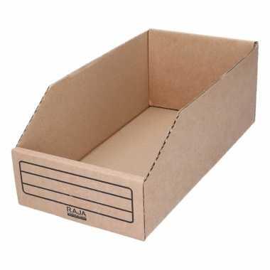 Garage/schuur opslag/sorteer bakjes 15 x 30 cm
