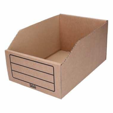 Garage/schuur opslag/sorteer bakjes 20 x 30 cm