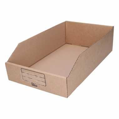 Garage/schuur opslag/sorteer bakjes 25 x 42 cm