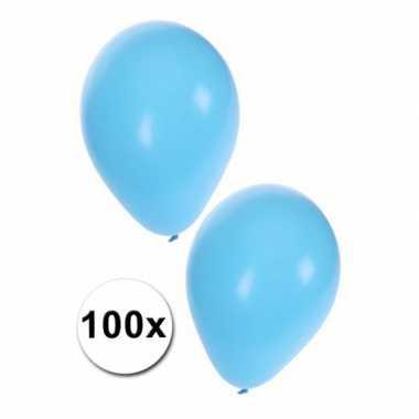 Geboorte jongen ballonnen 100st