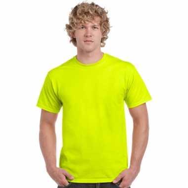 Geel neon t-shirts