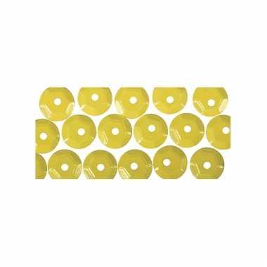 Geelkleurige pailletten 500x