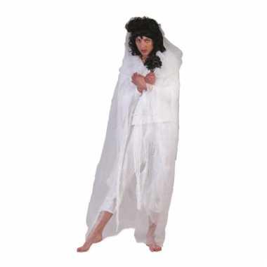 Geest verkleed cape wit