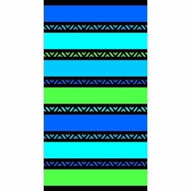 Gekleurd strandlaken twisty men 95/100 x 175