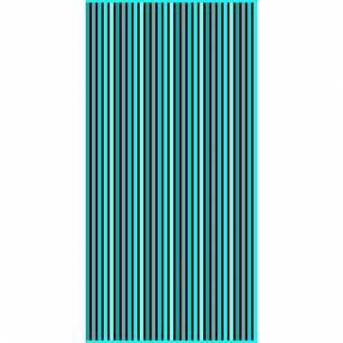Gekleurd streepjes strandlaken marbella verticaal 90 x 170