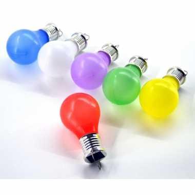 Gekleurde zonne energie licht bolletje