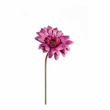 Gerbera nep tak 47 cm roze