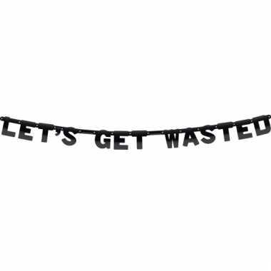 Get wasted feest letterslinger