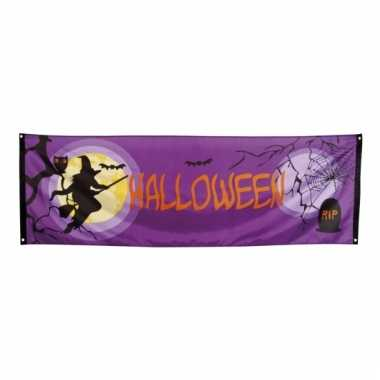Gevel vlag halloween 220 x 74 cm