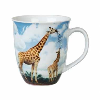 Giraffe thee mok