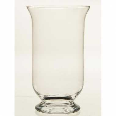 Glazen kelkvormige boeketvaas 30 cm