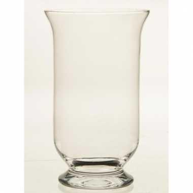 Glazen kelkvormige boeketvaas 35 cm