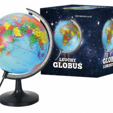 Globe met licht 20 cm