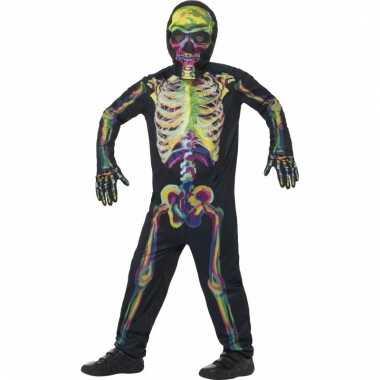 Glow in the dark skelettenpak voor kinderen