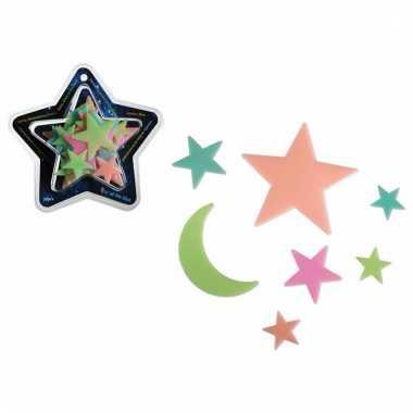 Glow in the dark sterrenhemel 30 sterren