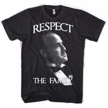 Godfather kleding respect shirt heren