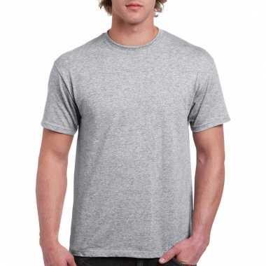 Goedkope gekleurde shirts grijs voor volwassenen