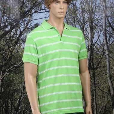 Golf poloshirt lime groen