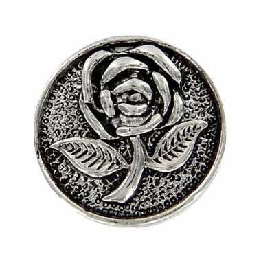 Gothic chunk met roos 1,8 cm