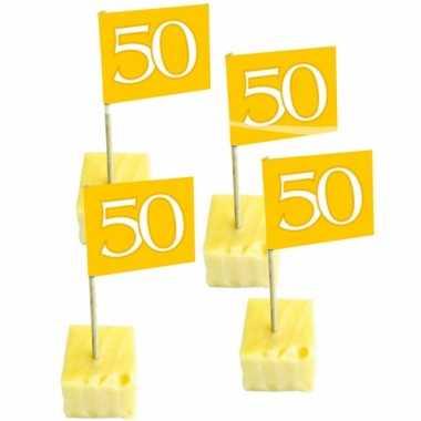 Gouden cocktailprikkers 50 jaar