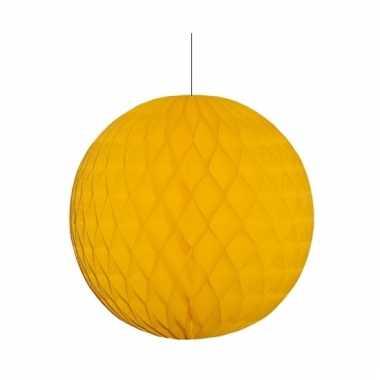 Gouden decoratie bal 10 cm
