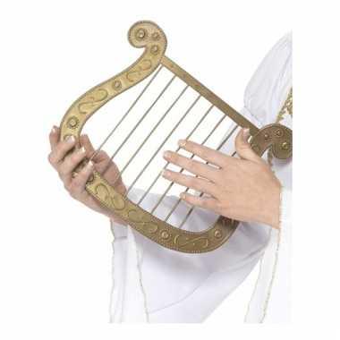 Gouden engelen harp