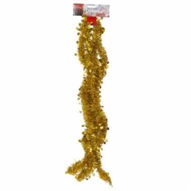 Gouden folieslinger met sterretjes