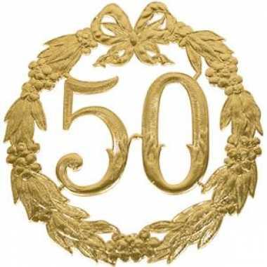 Gouden jubileum 50 jaar getrouwd
