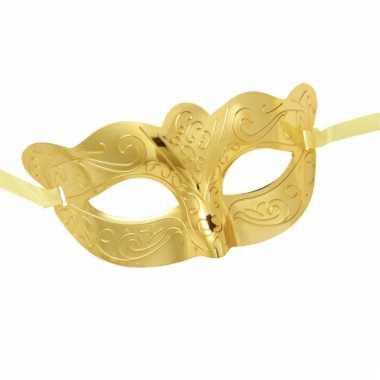 Gouden oogmaskers
