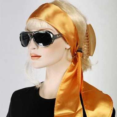 Gouden taille riem voor dames