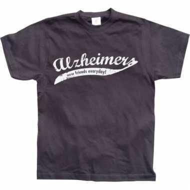 Grappig heren t-shirt alzheimer