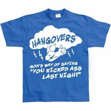 Grappig heren t-shirt hangovers